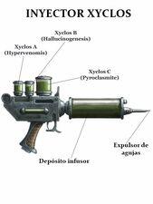 Arma fabius bile inyector xyclos