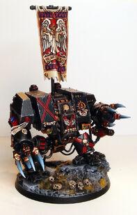 Dreadnought miniatura guardia de la muerte de los Angeles sangrientos