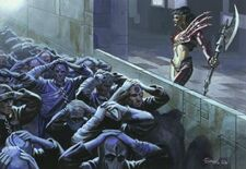 Eldars Oscuros esclavos