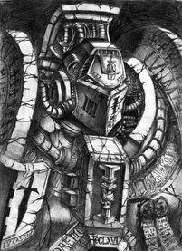Exterminador de los Caballeros Grises (Fan Art)