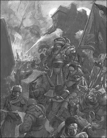 Guardia imperial comandante vostroya Harazahn