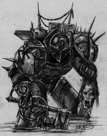 Khorne Berserker caos wikihammer