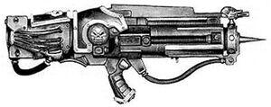 Rayo de Conversion Arma Marines Espaciales Astartes Wikihammer