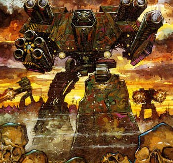 Titan warlord mecanicus wikihammer