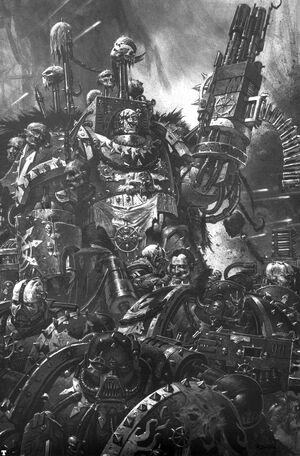 Caos legion negra kthelmir
