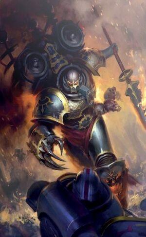 Haarken Worldclaimer Vigilus Legión Negra