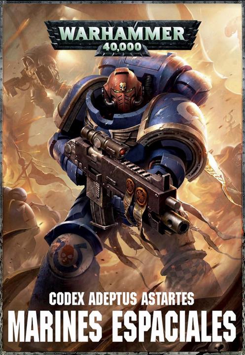 Portada Codex Marines Espaciales 8ª edición traducido