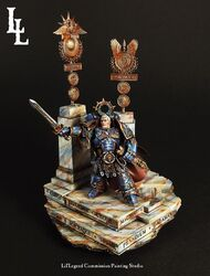 Primarca Roboute Guilliman Ultramarines Forge World Lil Legend Studio