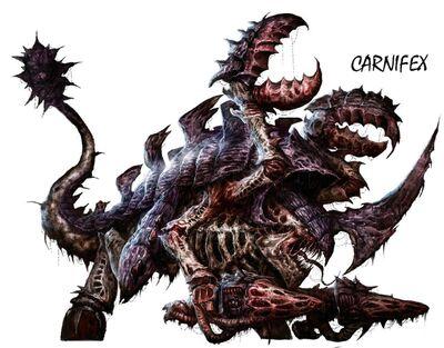Tiranidos arte carnifex