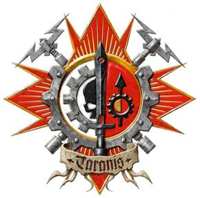 Caballeros emblema taranis