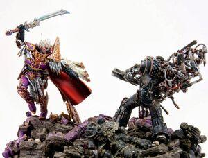 Duelo Ferrus Manus Fulgrim Istvaan V Forge World