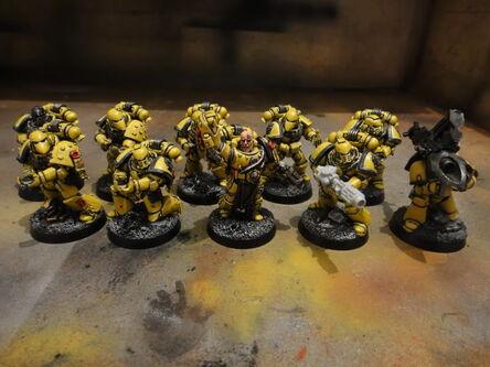 Escuadra Táctica Puños Imperiales Lanzamisiles Gravitones
