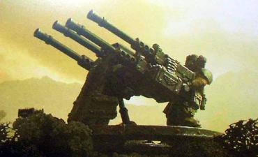 Gi plataforma de armas sabre