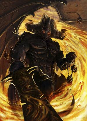Be'lakor el Señor Oscuro por Catherine Oc