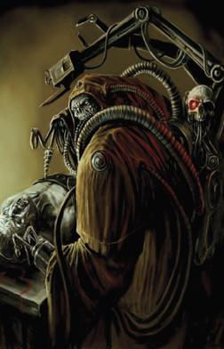 Caos mechanicus oscuro Magos Vathek