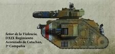 Guardia Imperial tanque leman russ executioner catachan