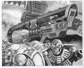 Androides del Caos Devoradores de Mundos Renegades ilustración
