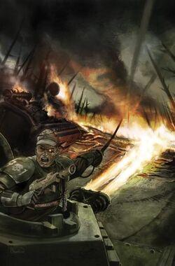 Guardia imperial oficial asalto hellhound