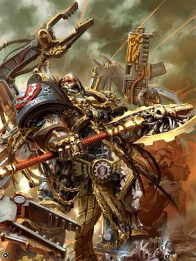 Kardan Stronos Señor del Capítulo Padre de Hierro Manos de Hierro
