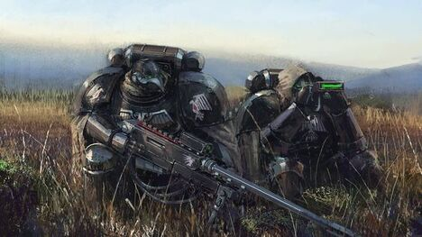 Marines guardia del cuervo exploradores