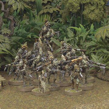 Miniatura Kroot escuadra