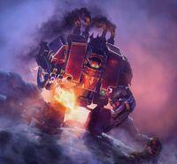 Caos dreadnought vs guardia imperial