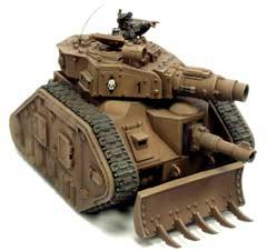 Miniatura guardia Leman Russ Conqueror
