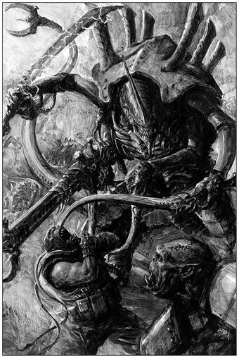 Tiranidos vs orkos