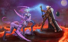 Inquisidora versus diablillas slaanesh wikihammer