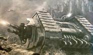 Land Raider Proteus guardia de la muerte Istvaan III