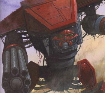 Mechanicum oscuro titan traidor