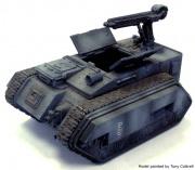 Miniatura guardia imperial vehiculo trojan