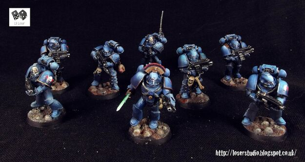 Escuadra Táctica Maximus Amos de la Noche