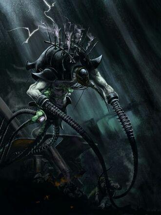 Eldar oscuro artefacto parasito cronos