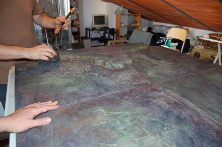 Pintura tablero modular 12