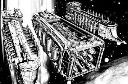 Flota transporte lanzaderas