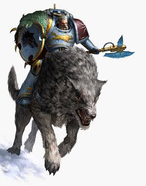 Harald Deathwolf Mounted
