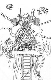 Tecnosacerdote Adeptus Mechanicus Fanart