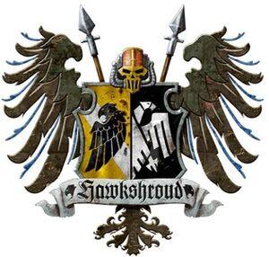 Caballeros emblema hawkshroud
