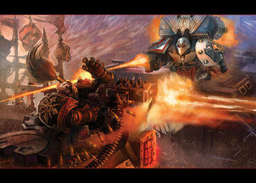 Comandante Asalto Guardia del Cuervo vs Tanque Legión Negra