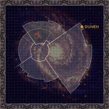 Galaxy map dunen
