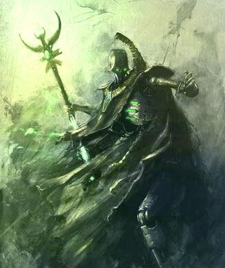 Necrones lider siervo de ctan