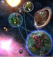 Mapa Soulstorm Sectores