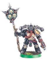 Portaiconos Guardia de la Muerte Caos 2ª Edición miniatura