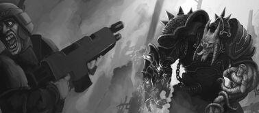 WH40K Chaos Marine