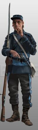 Soldado Tarquiniano Temprano