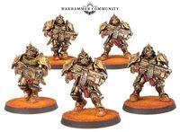 Guardia Sagittarum Legio Custodes FW miniaturas