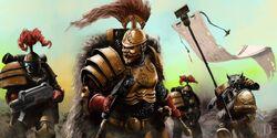 Preherejia guerreros trueno escuadra
