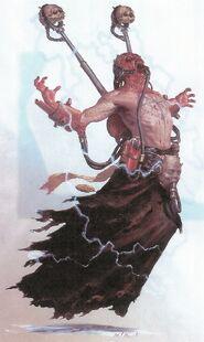Caos cultista en ritual wikihammer