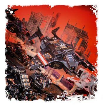 Corvus Blackstar Guardianes de la Muerte vs Tau 7ª Edición diorama